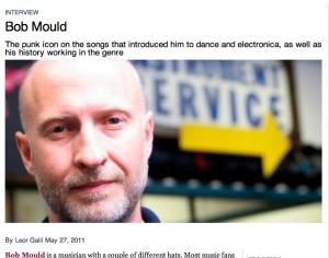 A.V. Club Bob Mould