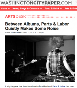 Parts & Labor wcp