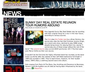 AP SDRE reunion rumors