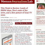 The Nieman Journalism Lab SXSW coverage