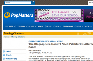 PopMatters Altered Zones