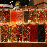 the candy plentiful